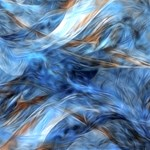 Blue Colorful Abstract