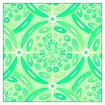 Kiwi green geometric