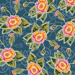 floral fantsy pattern