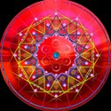 Synchronicity red black