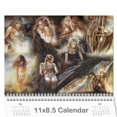 Clr By Majo   Wall Calendar 11  X 8 5  (12 Months)   Mayg9authvdu   Www Artscow Com Cover