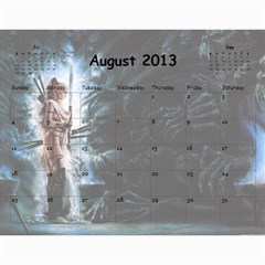 Clr By Majo   Wall Calendar 11  X 8 5  (12 Months)   Mayg9authvdu   Www Artscow Com Aug 2013