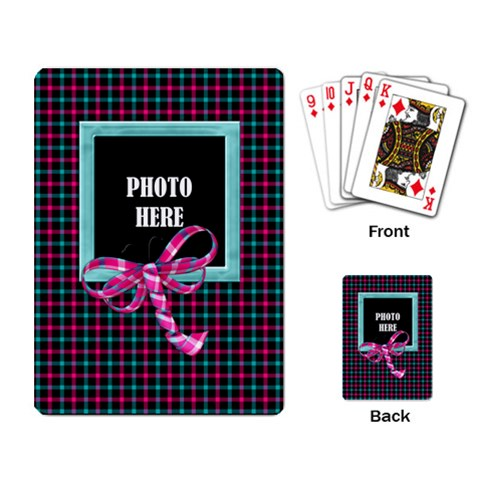 Color Splash Playing Cards 1 By Lisa Minor   Playing Cards Single Design   Ctiukvvfmjv5   Www Artscow Com Back