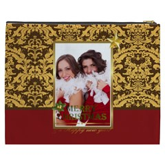 Merry Christmas, Happy New Year, Xmas By Angena Jolin   Cosmetic Bag (xxxl)   6ry53us8yueh   Www Artscow Com Back