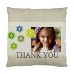 thank you - Standard Cushion Case (Two Sides)