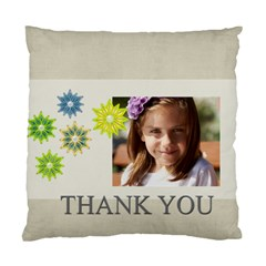 Thank You By Jacob   Standard Cushion Case (two Sides)   Ho45fgjelzhk   Www Artscow Com Back