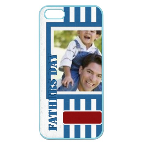 Fathers Day By Joely   Apple Seamless Iphone 5 Case (color)   X0fvf0sdrcri   Www Artscow Com Front