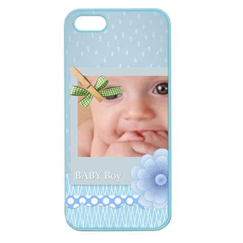 Baby By Joely   Apple Seamless Iphone 5 Case (color)   Ccq6l6q3vvnh   Www Artscow Com Front