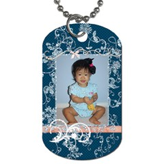 Haven 2side Dogtag By Audrey Purwadihardja   Dog Tag (two Sides)   Ev3agu6bducn   Www Artscow Com Front