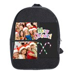merry christmad - School Bag (Large)