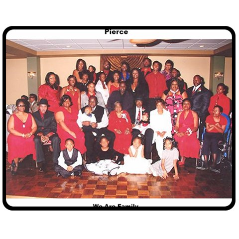 We Are Family By Lynette Pierce   Fleece Blanket (medium)   5i8vx34ojdzb   Www Artscow Com 60 x50 Blanket Front