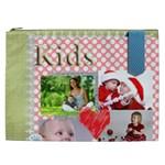 kids, fun, child, play, happy - Cosmetic Bag (XXL)