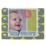 kids, fun, child, play, happy - Cosmetic Bag (XXL)