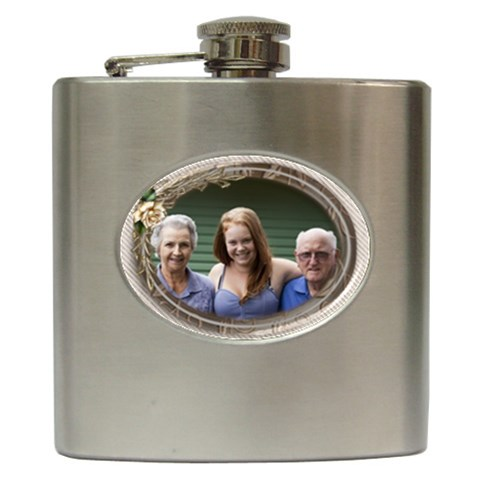 Celebration Hip Flask By Deborah   Hip Flask (6 Oz)   9x3nxb3s0pbn   Www Artscow Com Front