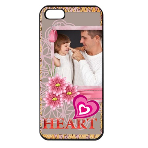 Kids , Flower , Happy, Fun By Jo Jo   Apple Iphone 5 Seamless Case (black)   93x8r1q0kdln   Www Artscow Com Front