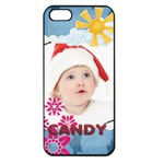 kids , flower , happy, fun - Apple iPhone 5 Seamless Case (Black)