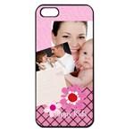 happy kids - Apple iPhone 5 Seamless Case (Black)