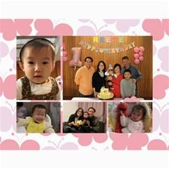Wall Calender 2013 By Tsang Yi Ling   Wall Calendar 11  X 8 5  (18 Months)   Xliihn4a0kaw   Www Artscow Com Month