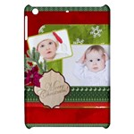 merry christmas, happy new year, xmas - Apple iPad Mini Hardshell Case