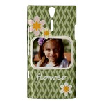 flower , kids, happy, fun, green - Sony Xperia S Hardshell Case