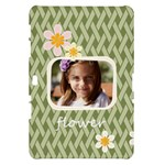 flower , kids, happy, fun, green - Samsung Galaxy Tab 10.1  P7500 Hardshell Case