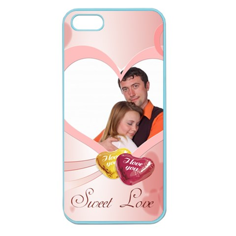 Love By Wood Johnson   Apple Seamless Iphone 5 Case (color)   Jng7pqf2c1za   Www Artscow Com Front