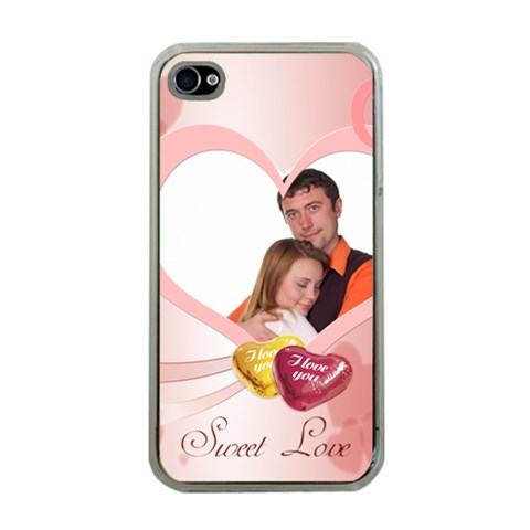 Love By Wood Johnson   Apple Iphone 4 Case (clear)   Xym1a14o90na   Www Artscow Com Front