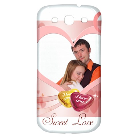 Love By Wood Johnson   Samsung Galaxy S3 S Iii Classic Hardshell Back Case   Oof599i6065r   Www Artscow Com Front