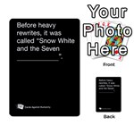 Cards Against Humanity E1.1 - Multi-purpose Cards (Rectangle)