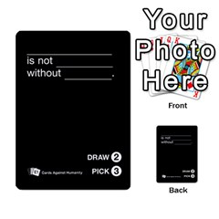Cards Against Humanity E1 1 By Erik   Multi Purpose Cards (rectangle)   4ady8l0m54a8   Www Artscow Com Front 13