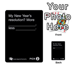 Cards Against Humanity E1 1 By Erik   Multi Purpose Cards (rectangle)   4ady8l0m54a8   Www Artscow Com Front 16