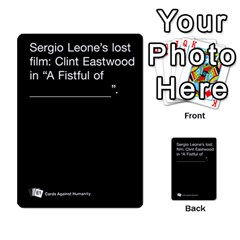 Cards Against Humanity E1 1 By Erik   Multi Purpose Cards (rectangle)   4ady8l0m54a8   Www Artscow Com Front 18