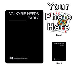 Cards Against Humanity E1 1 By Erik   Multi Purpose Cards (rectangle)   4ady8l0m54a8   Www Artscow Com Front 19
