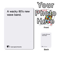 Cards Against Humanity E1 1 By Erik   Multi Purpose Cards (rectangle)   4ady8l0m54a8   Www Artscow Com Front 39