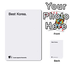Cards Against Humanity E1 1 By Erik   Multi Purpose Cards (rectangle)   4ady8l0m54a8   Www Artscow Com Front 41