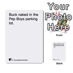 Cards Against Humanity E1 1 By Erik   Multi Purpose Cards (rectangle)   4ady8l0m54a8   Www Artscow Com Front 45