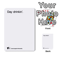 Cards Against Humanity E1 1 By Erik   Multi Purpose Cards (rectangle)   4ady8l0m54a8   Www Artscow Com Front 49