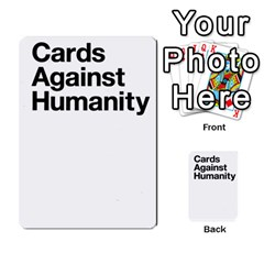 Cards Against Humanity E1 2 By Erik   Multi Purpose Cards (rectangle)   Z7dhs0hxdibl   Www Artscow Com Back 51