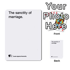 Cards Against Humanity E1 2 By Erik   Multi Purpose Cards (rectangle)   Z7dhs0hxdibl   Www Artscow Com Front 18