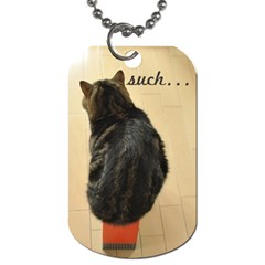 Maru And Such By Cassandra   Dog Tag (two Sides)   W6t5a3gb25si   Www Artscow Com Back