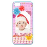 flower, kids , happy - Apple Seamless iPhone 5 Case (Color)
