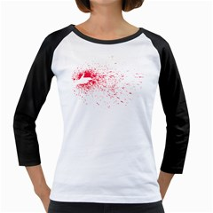 Dream Come True   Space Girly Raglan by uTees