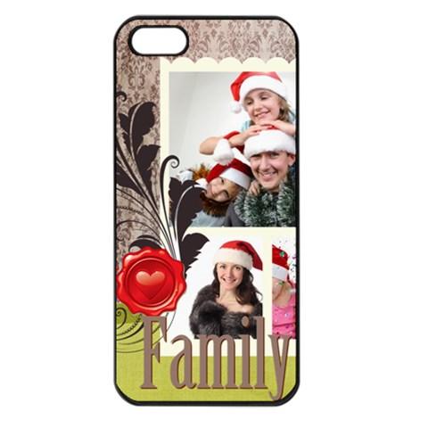Happy Kids By Jo Jo   Apple Iphone 5 Seamless Case (black)   7yknw2z29smm   Www Artscow Com Front