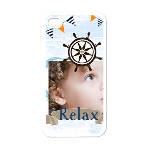 Love, Kids, Happy, Fun, Family, Holiday By Mac Book   Apple Iphone 4 Case (white)   3i96cijy22qf   Www Artscow Com Front