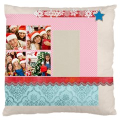 Merry Christmas, New Year, Happy, Family, Kids By Mac Book   Large Cushion Case (two Sides)   85ypspr705yb   Www Artscow Com Back