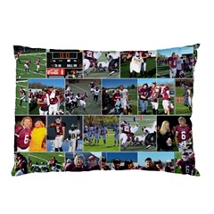 Football Pillow Case (two Sides) By Snackpackgu   Pillow Case (two Sides)   3h93e6l4wk3q   Www Artscow Com Back