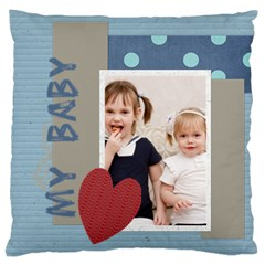 Love, Kids, Memory, Happy, Fun  By Joely   Large Cushion Case (two Sides)   Ow3pkc2g60ri   Www Artscow Com Front