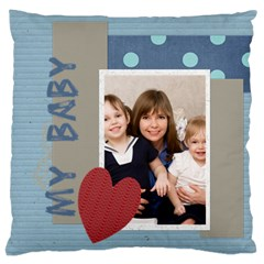 Love, Kids, Memory, Happy, Fun  By Joely   Large Cushion Case (two Sides)   Ow3pkc2g60ri   Www Artscow Com Back