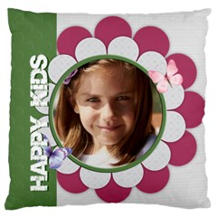 Love, Kids, Memory, Happy, Fun  By Joely   Large Cushion Case (two Sides)   Iyr72bhr4yan   Www Artscow Com Front
