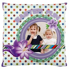 Love, Kids, Memory, Happy, Fun  By Joely   Large Cushion Case (two Sides)   Hdn2i973x8aq   Www Artscow Com Back